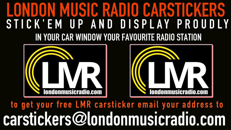 Free LMR Car Sticker!