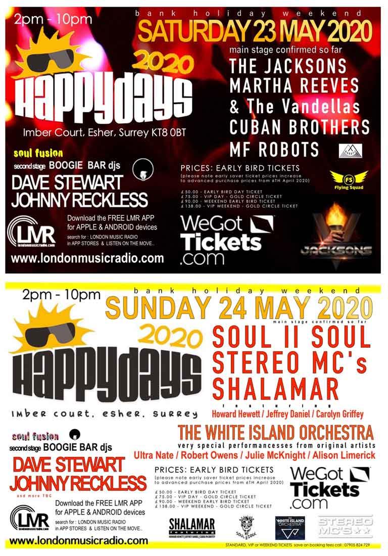 Happy Days Festival 2020
